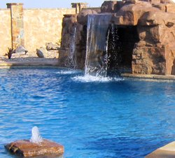 Custom Feature #009 by Amarillo Custom Pools