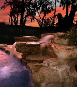 Custom Feature #010 by Amarillo Custom Pools