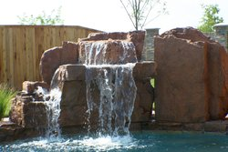 Custom Feature #011 by Amarillo Custom Pools
