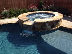 Custom Feature #013 by Amarillo Custom Pools