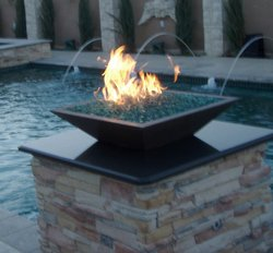 Custom Feature #014 by Amarillo Custom Pools