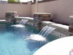 Custom Feature #016 by Amarillo Custom Pools