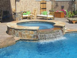 Custom Feature #017 by Amarillo Custom Pools