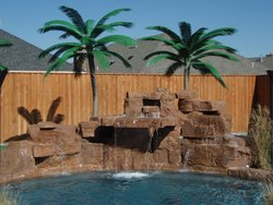 Custom Feature #019 by Amarillo Custom Pools