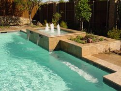 Custom Feature #021 by Amarillo Custom Pools