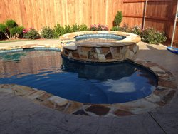 Custom Feature #023 by Amarillo Custom Pools
