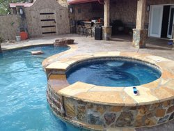 Custom Feature #025 by Amarillo Custom Pools