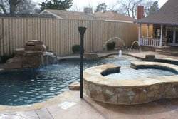 Custom Feature #027 by Amarillo Custom Pools
