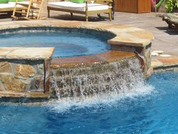 Custom Feature #033 by Amarillo Custom Pools