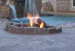 Fire Pit #003 by Amarillo Custom Pools