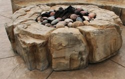 Fire Pit #004 by Amarillo Custom Pools