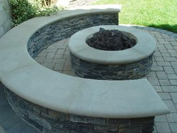 Fire Pit #006 by Amarillo Custom Pools