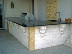 Outdoor Kitchen #004 by Amarillo Custom Pools