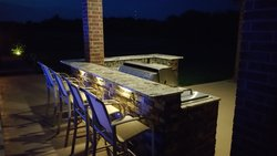Outdoor Kitchen #006 by Amarillo Custom Pools
