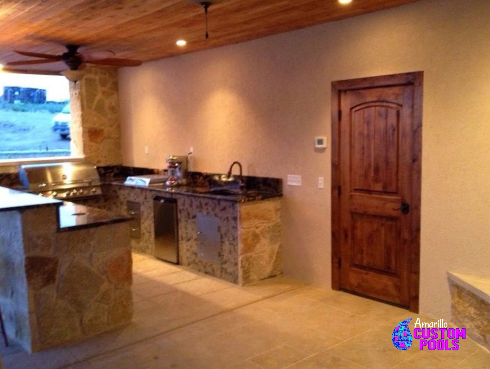 outdoor kitchen 003 by amarillo custom pools
