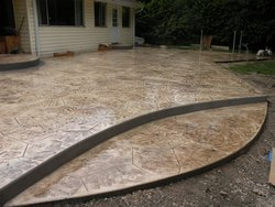 Stamped Concrete #003 by Amarillo Custom Pools