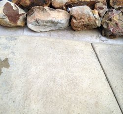 Stamped Concrete #004 by Amarillo Custom Pools