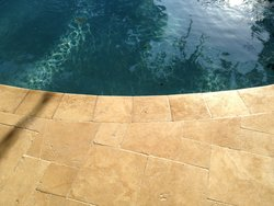 Travertine #004 by Amarillo Custom Pools