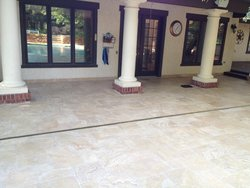 Travertine #006 by Amarillo Custom Pools
