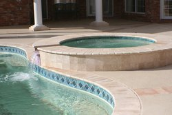Travertine #007 by Amarillo Custom Pools