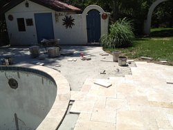 Travertine #008 by Amarillo Custom Pools